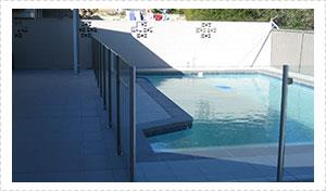 Semi Frameless Pool Fencing Gold Coast