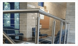 Stainless Steel and Wire Balustrading Gold Coast
