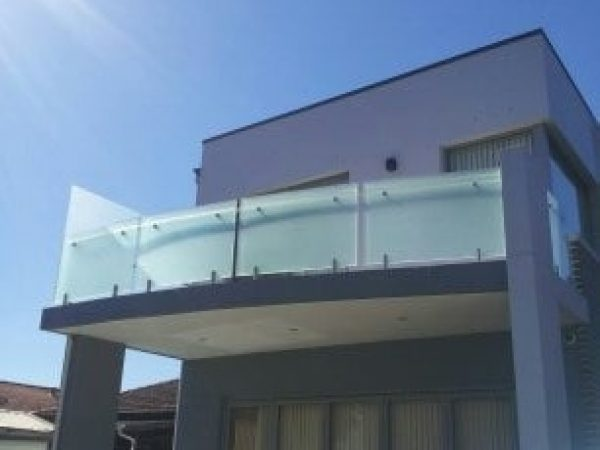 Semiframeless glass pool fencing Gold Coast