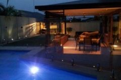 Frameless glass pool fencing Gold Coast