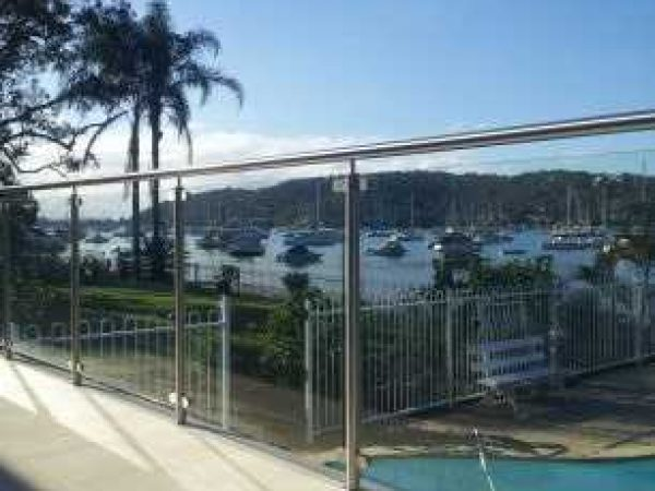 Semiframeless glass pool fencing Gold Coast 13