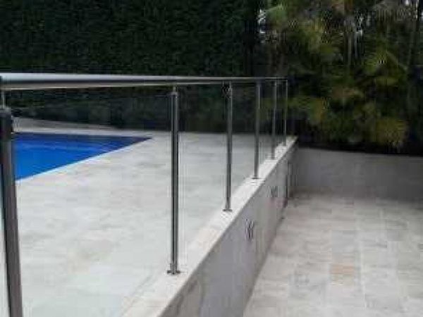 Semiframeless glass pool fencing Gold Coast 15