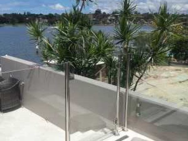 Semiframeless glass pool fencing Gold Coast 18
