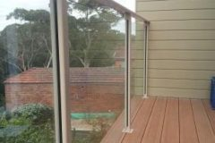 Semiframeless glass pool fencing Gold Coast 5