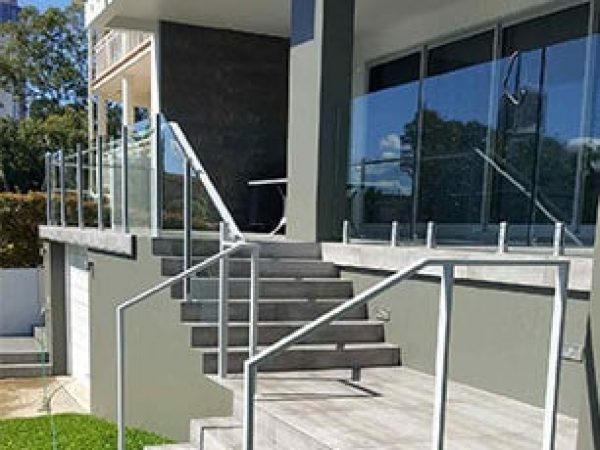 Semiframeless glass pool fencing Gold Coast 20