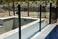 Semiframeless glass pool fencing Gold Coast 23