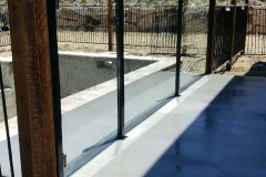 Semiframeless glass pool fencing Gold Coast 24
