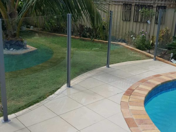 Semiframeless glass pool fencing Gold Coast 25